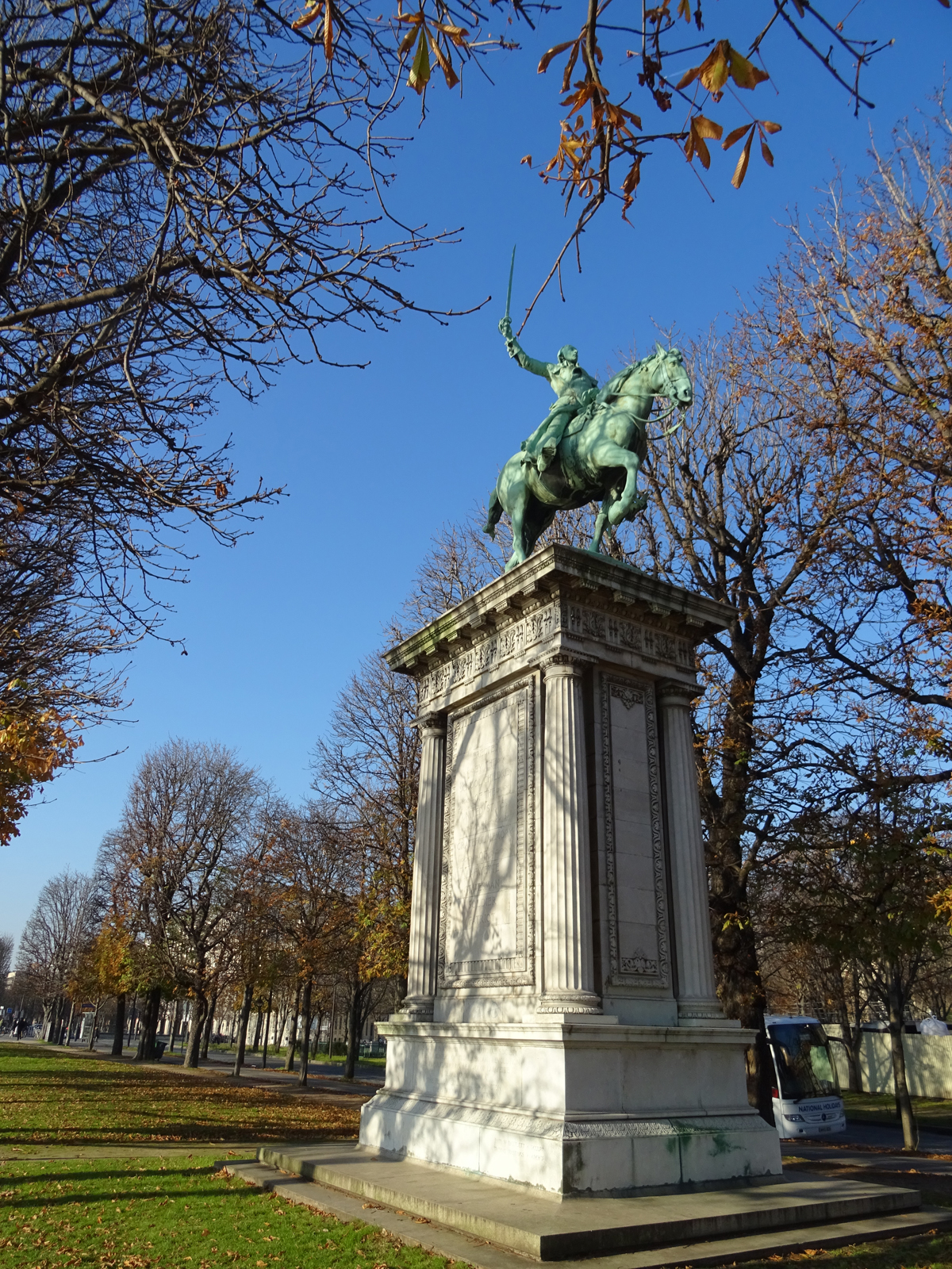 The Childrens Statue of Lafayette